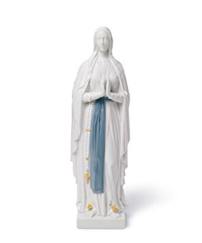 Lladro Our Lady of Lourdes Porcelain Figurine