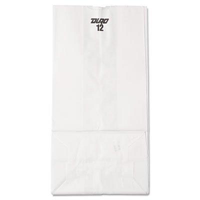 Lagasse BAG GW12-500#12 Bag Size Bleached Paper Bag