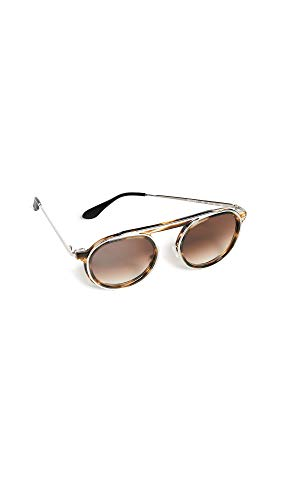 Thierry Lasry Women's Ghosty 192 Sunglasses, Gradient Brown/Brown, One ()