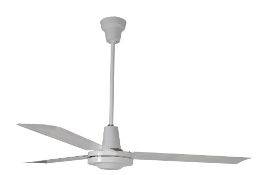 Leading Edge 60001 60-Inch Heavy Duty High Performance Ceiling Fan, 46000 CFM, White by Leading Edge