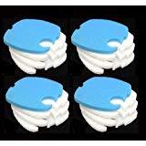 "16PCS Aquarium Replacement Filter Pads Pet Supplies for SUNSUN/ GRECH/ SUPER/ HW-303B CF400 7.5 "" x 7.5 "" x 0.75 "" from Filter Pads"