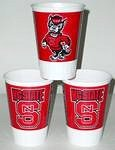 Westrick Paper North Carolina State Wolfpack 16 oz Cups