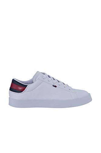 Tommy Jeans Uomo - Sneakers Bianche con Logo - Numero 41
