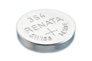 3pcs of Renata 364 SR621SW Swiss Watch Battery 1.55v