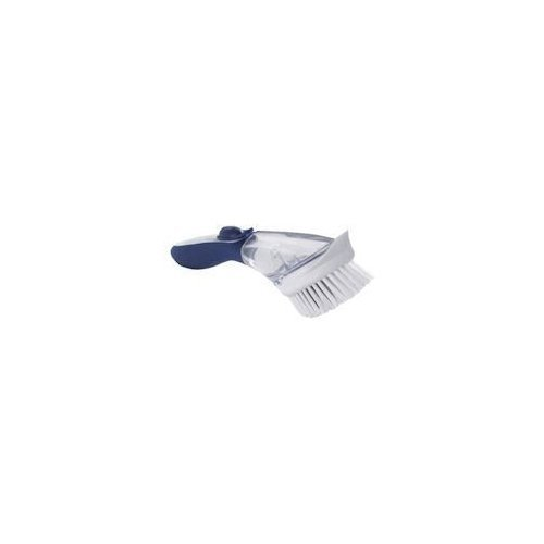 Dawn Fillable Kitchen Brush, 1 Count, Blue