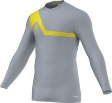 adidas Men's Performance Goalkeeper Jersey Bilvo 13 Small Silver & Vivid Yellow ()