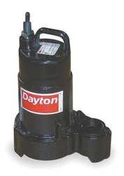 Dayton 4HU71 Pump, Effluent, 1/2 HP