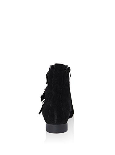 Gusto - 5501_SPICE_CRO_NERO_LINCE - Schuhe Stiefel Schwarz