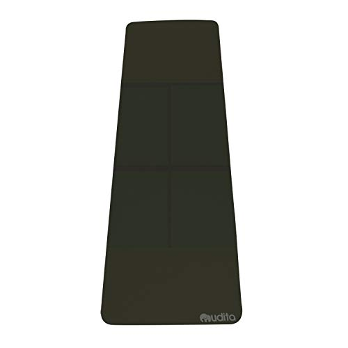 Mudita TPE Non-Slip Eco-Friendly Yoga Mat (Black)