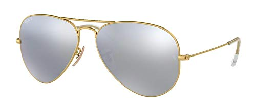 Ray Ban RB3025 Large Metal Aviator Sunglasses (Rb 3025 Aviator Large Metal)