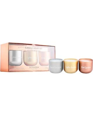 Price comparison product image SEPHORA COLLECTION Candle Hour Set 3: Spiced Sangria,  Lychee Peartini and Rose Spritzer,  3 x 3.5oz / 120g,  Limited Edition