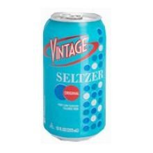 Vintage Original Seltzer Water, 12 Fluid Ounce - 24 per case.