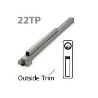 Von Duprin 22 Series Economy Panic Bar / Exit Device with Thumb Piece Trim. Rim Type#22TP (Series Exit Device 22)