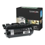 Lexmark Genuine Brand Name, OEM 64015SA Black Return Program Laser Toner Cartridge (6K YLD) for T640, T640n, T642, T642n, T644, T644n - Black Toner 6k