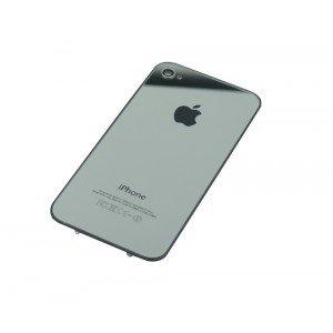 6ca6bfa3f2 Amazon | アップル ミラー銀 Mirror Silver iPhone4 iPhone 4 バックパネル バッテリーカバーケース交換ガラス  (インストールに必要な小さな星のスクリュードライバー ...