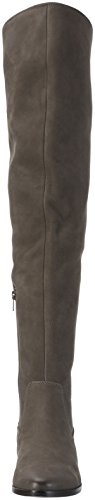 Aldo Grey Nabuck Chiaverini Knee Over 13 Boots Grey Women's RwqR0Yxr7