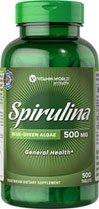 Spirulina Tablets -500 Mg.-500-tablets by Vitamin World