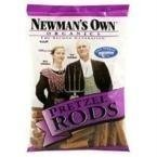 Newman's Own Organics Pretzels, Salted Rods, 8-Ounce Bags (Pack of 12) ( Value Bulk Multi-pack)