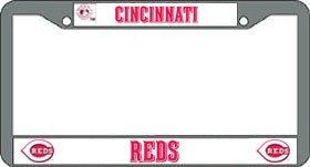 - Cincinnati Reds Chrome License Plate Frame
