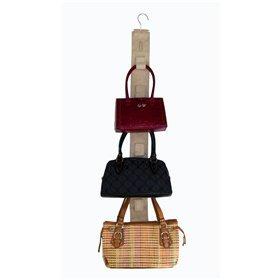 5c51529eef Rangement pour sac à main tissu pour armoire porte 14 sacs: Amazon ...