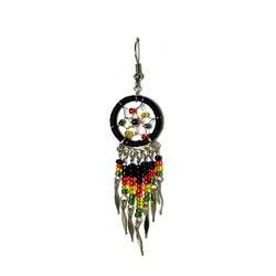 Amazing-Lot-12-Pairs-of-Rasta-Fashion-Earrings-From-Peru