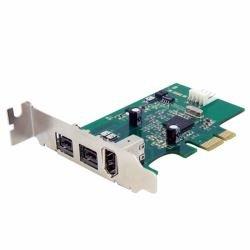 StarTech.com PEX1394B3LP 3 Port 2b 1a LP 1394 PCI Express FireWire Card by StarTech
