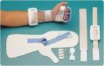 "Rolyan Flexor Tendon Repair Kit Aquaplast-T Size: Medium 3½""-4¼"" (8.9-11.4 cm)"