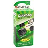 QuickSnap Flash 400 Disposable 35mm Camera (Pack of 6) by Fujifilm