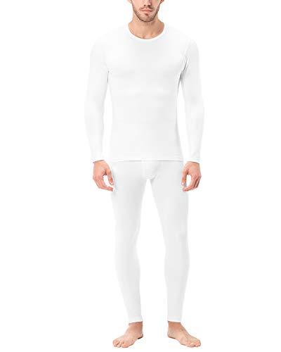LAPASA Mens 2 Pack /& 1 Pack Long Johns for Men Thermal Mens Thermal Underwear Mens Fleece Lined Long Johns M10,M56