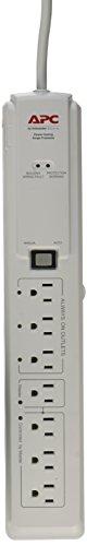 Master Control (APC 7-Outlet Surge Protector 1020 Joules, SurgeArrest (P7GB))