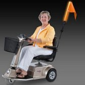 Amigo Alert Light Safety Flag for Mobility Power Scooters,, used for sale  Delivered anywhere in USA
