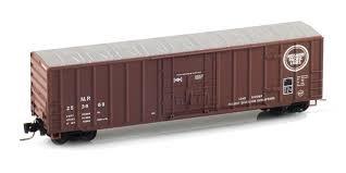 Rib Side Box - MT51100171 MicroTrains Z Missouri Pacific 50' Rib Side Box Car 253668