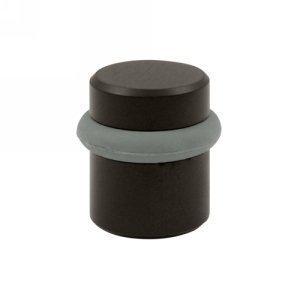 (Baldwin 4505102 Universal Floor Bumper Door Stop, Oil Rubbed Bronze, Pack Of 2)