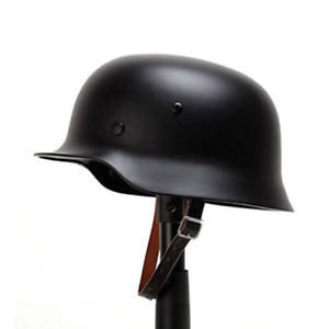 Wonderful 1PC Black WW2 German Elite WH Army M35 M1935 Steel Helmet Stahlhelm by Wangyihan