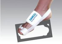 TAS Splint Toe Darco Elastic White Unisize Part# TAS by Darco International -