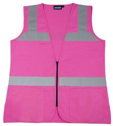 Hi Visibility Female Fitted Pink Safety