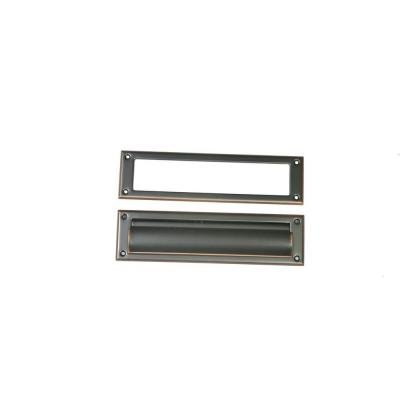 Gibraltar Mailboxes Steel Mail Slot in Rubbed Bronze by The Solar Group (Gibraltar Industries, Inc.)