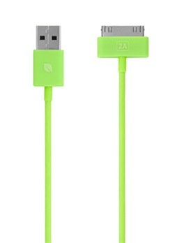(Incase 4 Foot Sync and Charge Cable - Fluro Green - EC20051 )