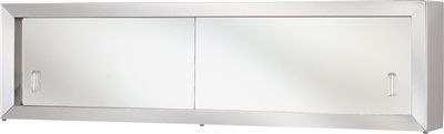Proplus 591087 36'' Cosmetic Box with Styrene Doors by ProPlus