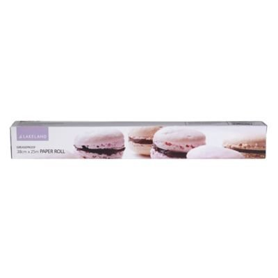 Lakeland Greaseproof Baking Parchment Paper on a Roll 38cm x 25m