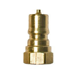 "1/4"" Male Quick Disconnect - Brass Coupler Fitting- Carpet Cleaning Solution Hoses, Tools, and Wands - *Quantity of 4*"