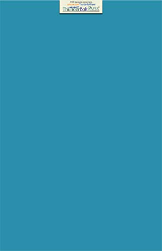 25 Bright Aqua Blue Cardstock 65lb Cover Paper 12 X 18 Inches Large Size   Poster Size - 65 lb/pound Light Weight Cardstock - Quality Smooth Paper Surface