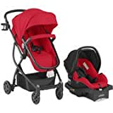 Urbini Car Seat Best Deals - Urbini Omni Plus Travel System with Sonti Infant Car Seat , red