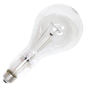 6 - Sylvania PS30 300W 130V  Clear Incandescent Light Bulb N