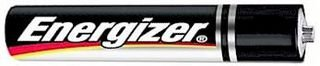 Energizer E96BP-2 Battery; Zinc-Manganese Dioxide; 1.5 V (Nom.); -18 degC; 55 degC; 0.1 cu. in. (100 pieces) by ENERGIZER