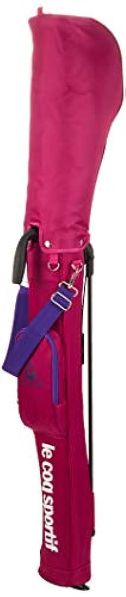 [해외] [르꼬끄스포루티후골프] 스탠드 퍼터입 클럽 케이스 나일론 소재를 사용한 셀프 클럽 케이스.한긴구훗쿠,후드 부착.컬러는 블랙,핑크,네이비의 3 색전개.