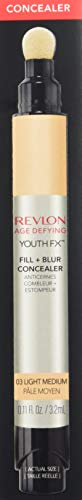 Revlon Youth Fx Fill + Blur Concealer,03  Light Medium, 0.11 Fluid Ounce