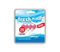 Conseils frais (Fresh-Conseils) Bubblegum jetable Brosse à dents et rafraîchir l'haleine avec sucre Xylitol gratuit 25 pk