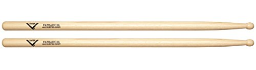 Vater 3A Wood Tip Hickory Drum Sticks, Pair