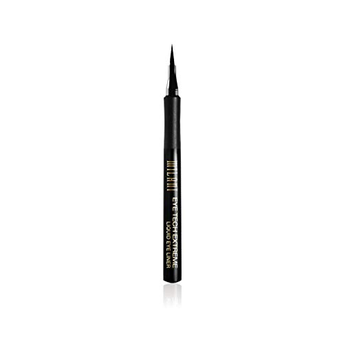 - Milani Eye Tech Extreme Liquid Eyeliner - Blackest Black (0.03 Fl. Oz.) Vegan, Cruelty-Free Liquid Eyeliner to Define & Intensify Eyes for Long-Lasting Wear